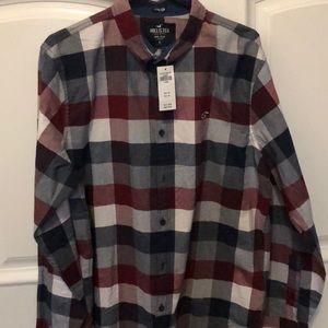Hollister Flannel Shirt NWT